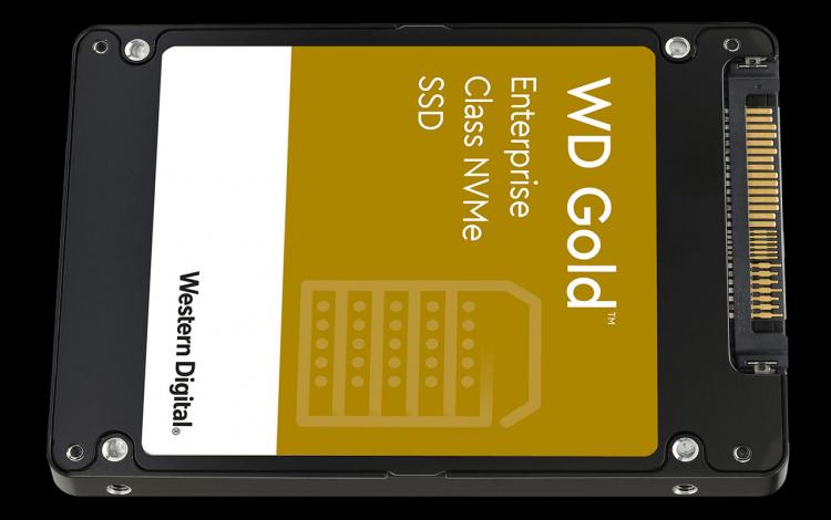 Western Digital представила твердотельные накопители WD Gold для предприятий