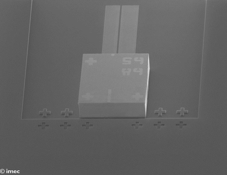 Гибридный интегрированный лазер Imec