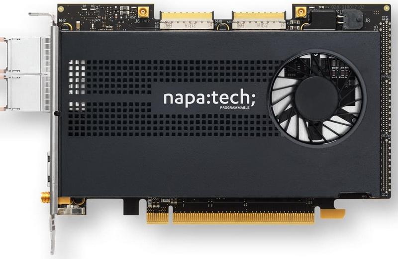 Napatech Link NT200A02: также базируется на FPGA производства Xilinx