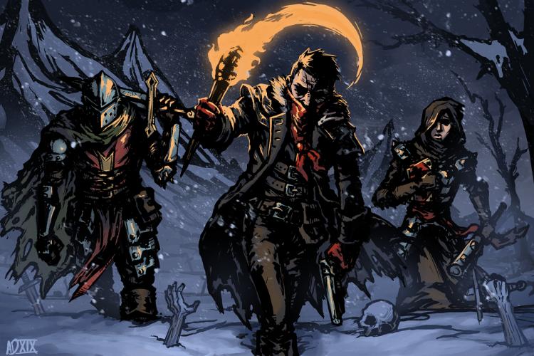 Иллюстрация на тему игры за авторством ADePietro