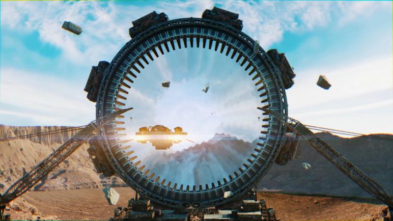 В игре очень много коротеньких CGI-заставок
