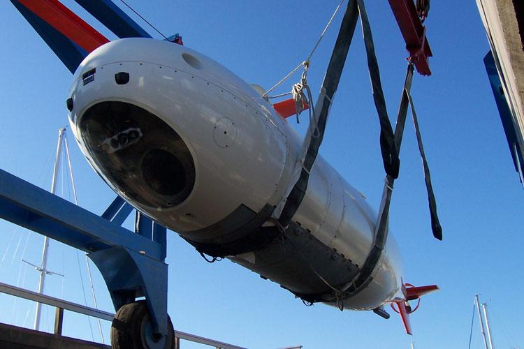 Подводная лодка MSub S201 будет переведена в автономный режим упралвния и послужит полигоном (MSubs)