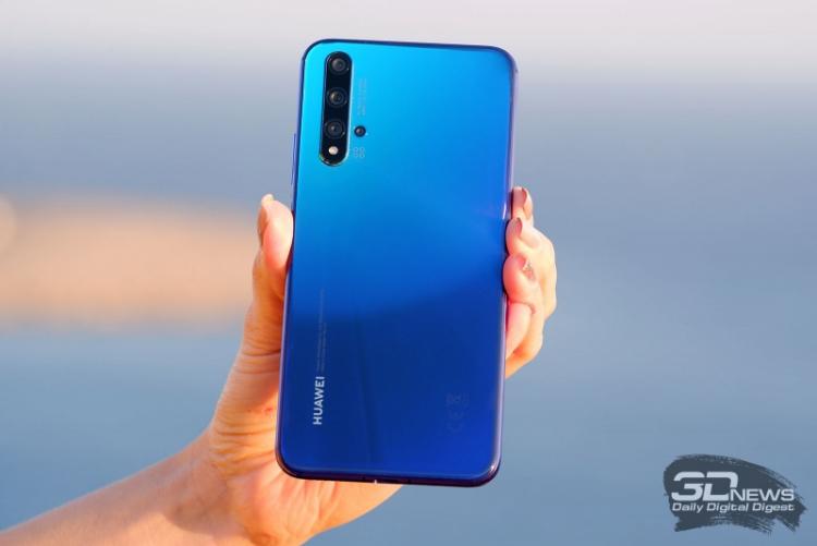 Huawei ожидает резкого падения продаж смартфонов из-за ограничений США