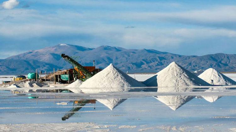 Добыча лития из солёных растворов (озёр)