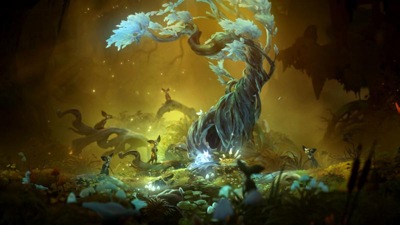 Нивен населяют лемуроподобные зверьки мори