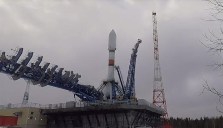Запуск спутника «Меридиан-М» / фотографии Роскосмоса