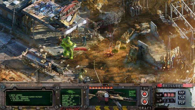 Иллюстрация по мотивам Fallout 4