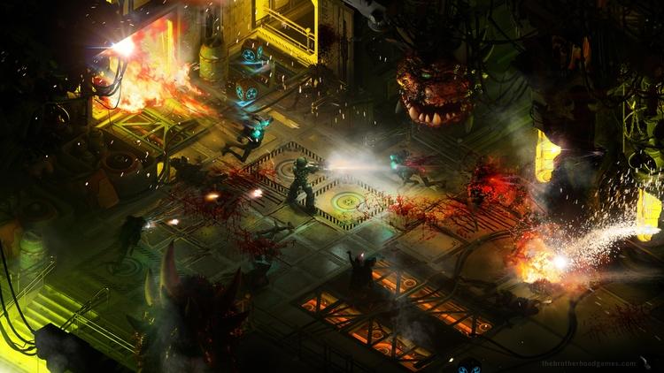 Иллюстрация по мотивам Doom (2016)