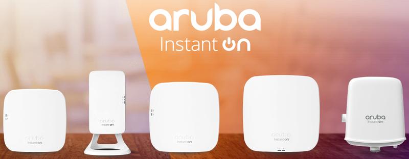 Точки доступа Aruba Instant On предельно просты в установке и настройке