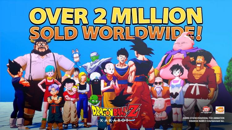 Dragon Ball Z: Kakarot пересекла отметку в 2 миллиона проданных копий