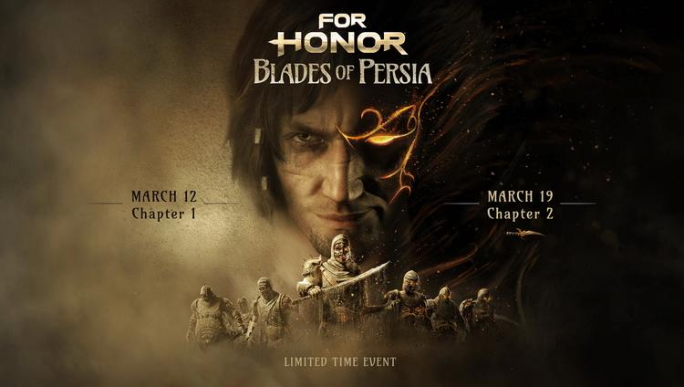 Возвращение принца: анонсировано временное событие For Honor «Клинки Персии»