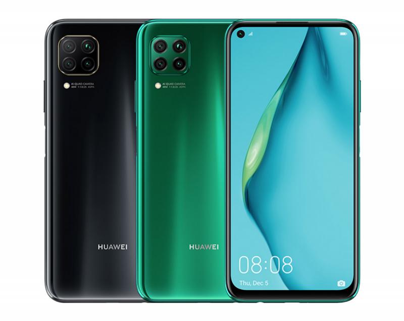 Huawei P40 Lite, официальный потрет