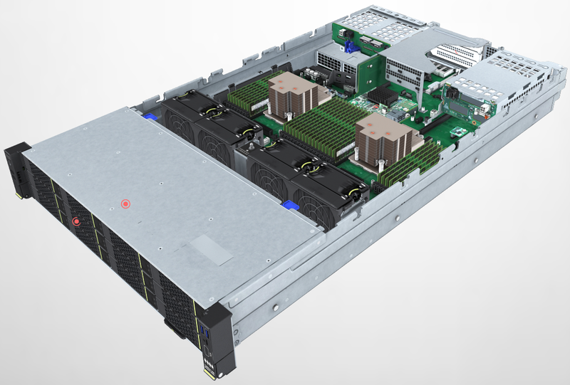 3D-модель сервера Huawei TaiShan 2280 v2