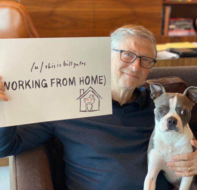 Источник изображения: Twitter, Bill Gates
