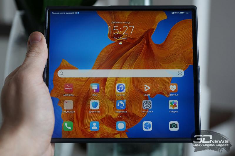 Обзор смартфона с гибким дисплеем Huawei Mate Xs