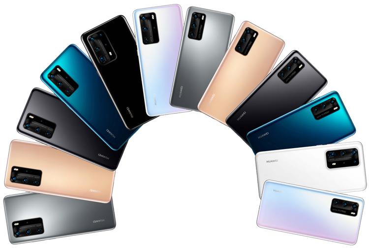 Смартфоны-флагманы Huawei P40 и P40 Pro красуются на качественных рендерах