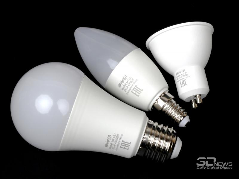 LED-лампы HIPER IoT A61, B1, C1