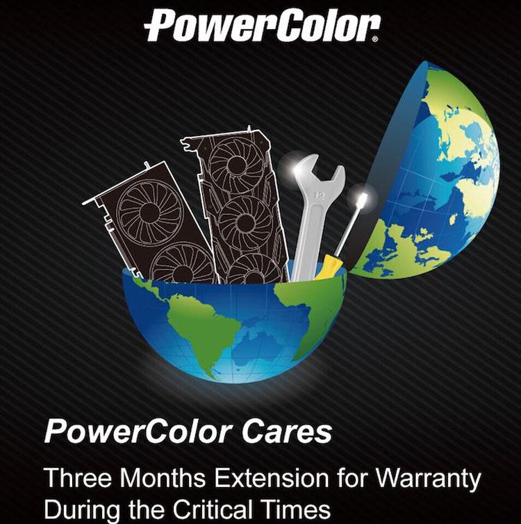 Powercolor Cares - Главная