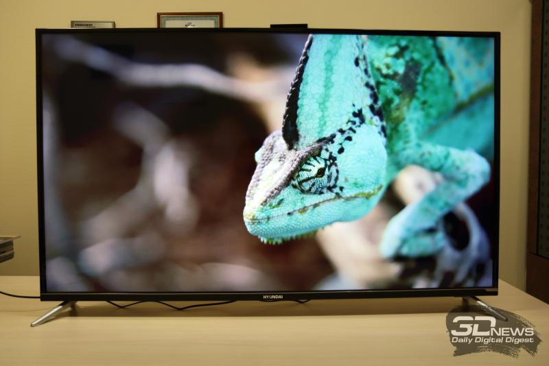 Обзор телевизора Hyundai H-LED55EU7008: тысяч меньше, чем дюймов