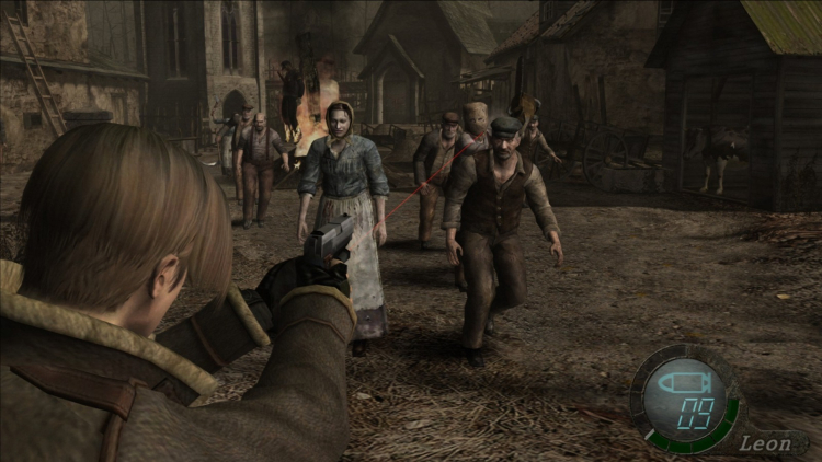 Resident Evil 4 — ещё одна игра серии, в которой герой пытался пробраться в замок через деревню