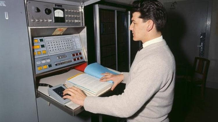Компьютер из 60-х