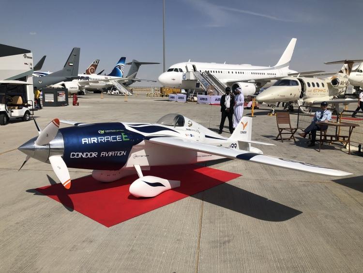 Электросамолёт «Белая молния» команды Condor Aviation