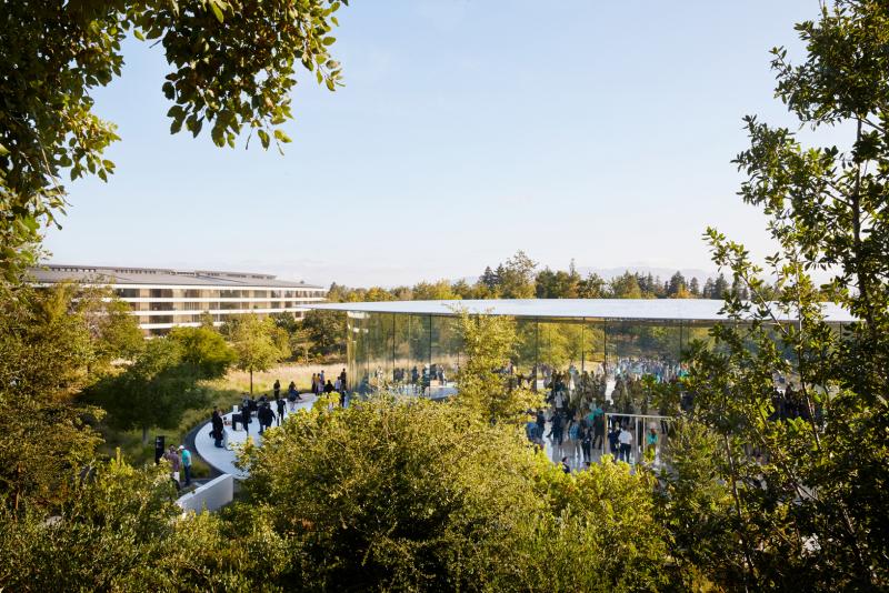 Кэмпус Apple в Купертино (Калифорния)