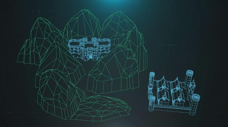 Слайд с презентации PS5, показывающий, как современные игровые миры ограничены из-за скорости считывания данных с накопителя