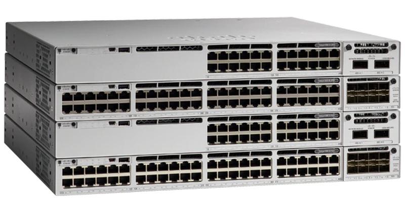 Cisco Catalyst 9300: коммутатор снаружи, x86 и Minecraft внутри