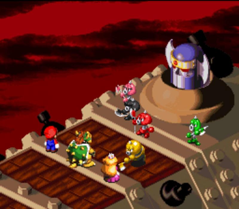 Марио смог в RPG еще на SNES