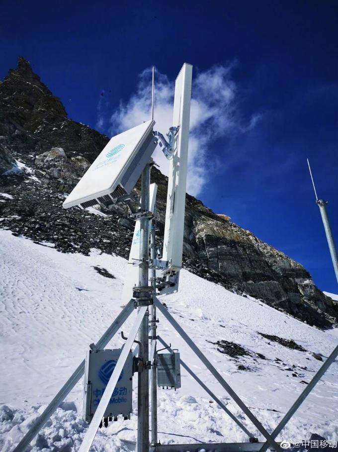 Одна из вышек 5G оператора China Mobile