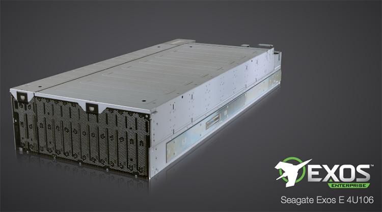 Система хранения данных Seagate Exos