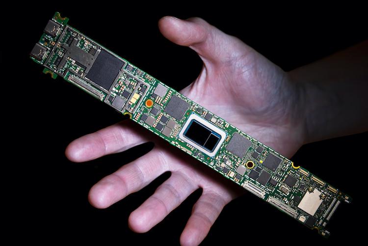 Материнская плата для ноутбука на базе процессора Intel Tiger Lake