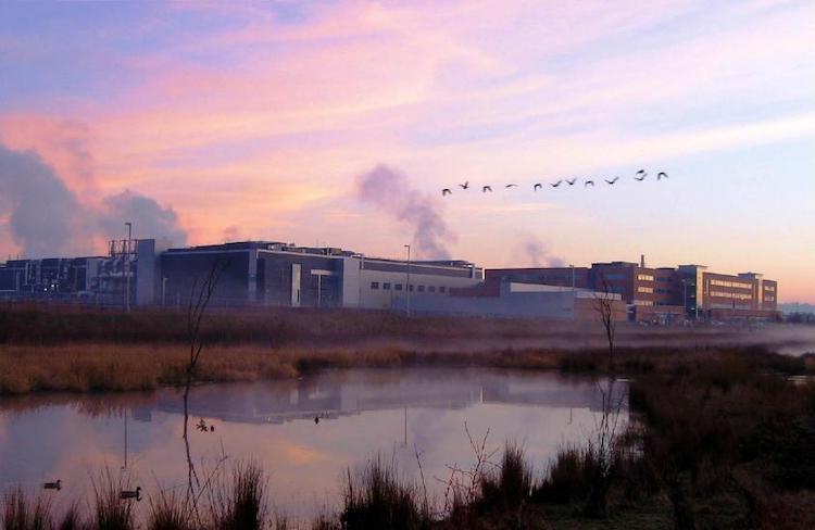 Фабрика Intel в Орегоне (США)