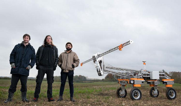 Прототип робота для сборки слизней