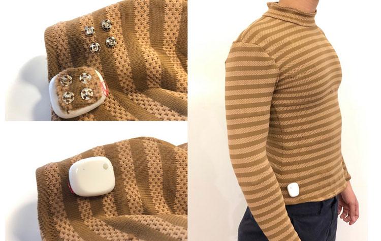 Съёмный процессорный блок и «умная» рубашка (MIT)