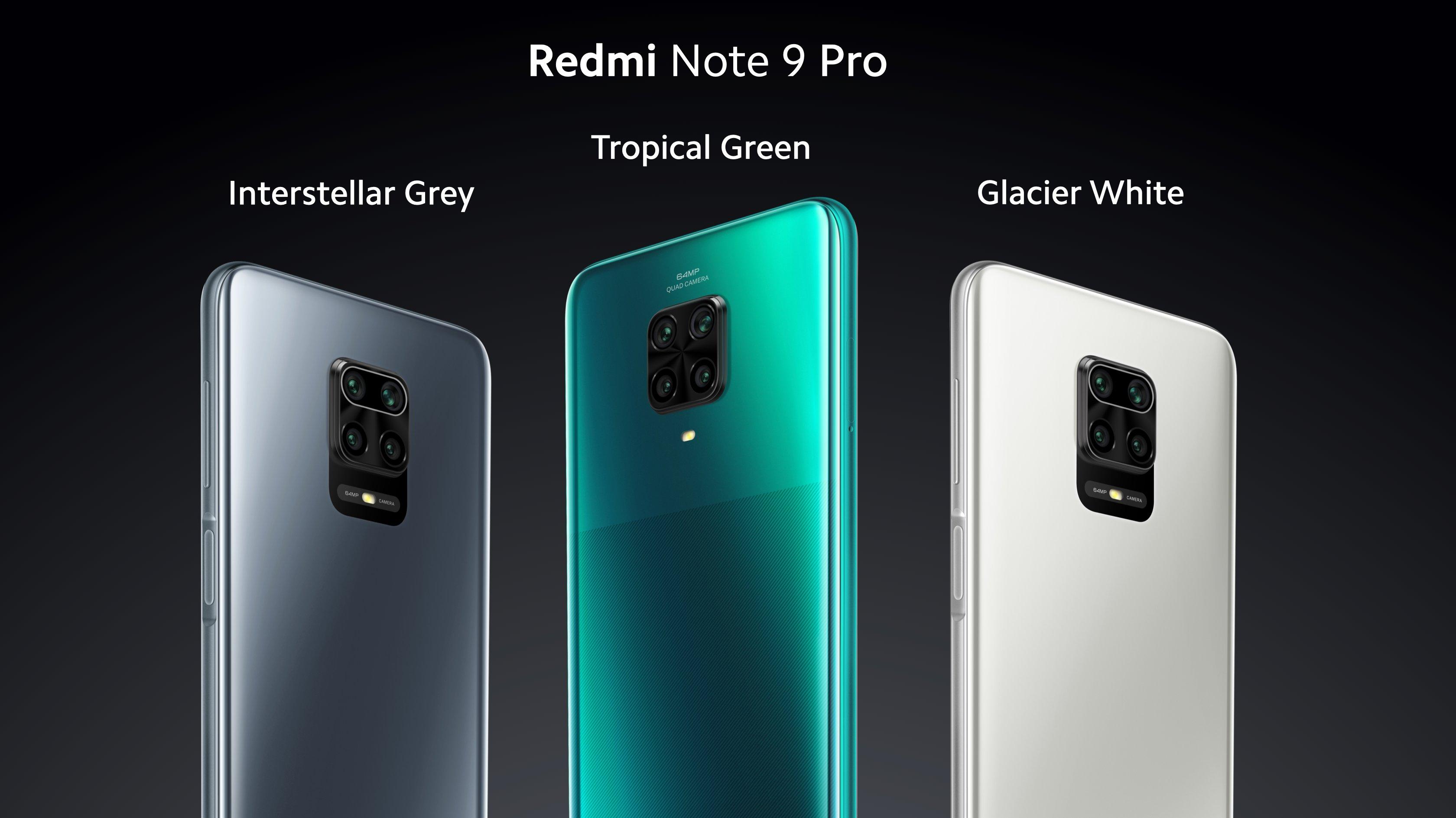 Смартфоны Redmi Note 9 Pro