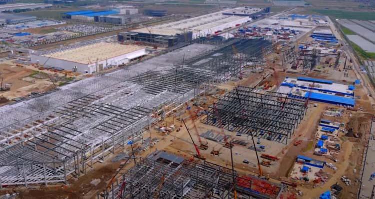 Tesla Gigafactory в Шанхае вырастет вдвое перед началом производства Model Y