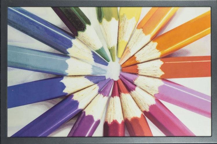 Образец 20-дюймового дисплея E Ink ACeP
