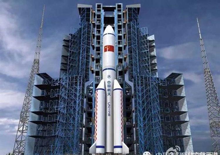Китай впервые запустил в космос новую ракету-носитель Long March-5B
