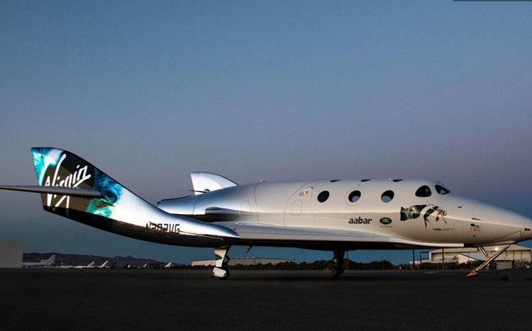 «Космический» самолёт VSS Unity компании Virgin Galactic
