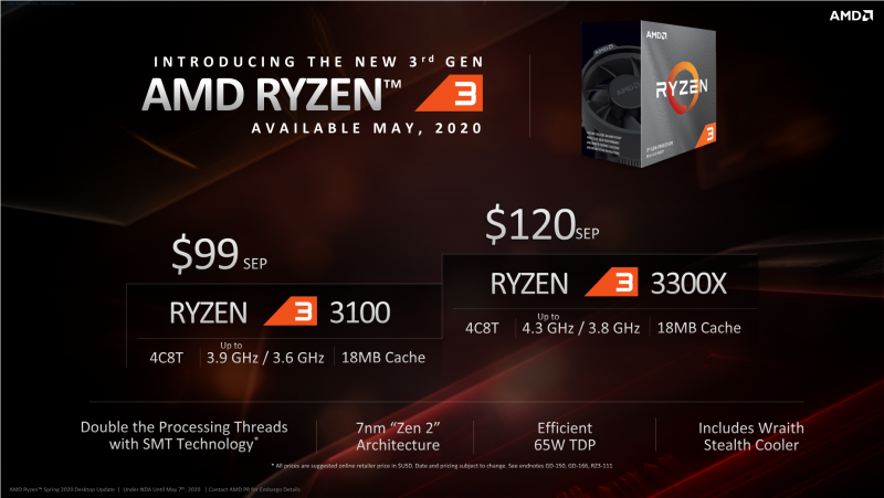 Обзор процессоров Ryzen 3 3300X и Ryzen 3 3100: как Core i7-7700K, только дёшево