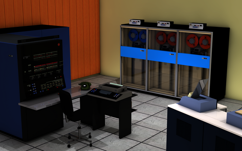 IBM System/370-145: один из самых компактных вариантов