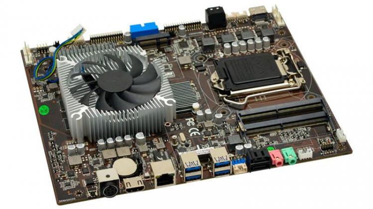 Материнская плата Zeal-All ZA-SK1050 оснащена «встроенной» видеокартой GeForce GTX 1050 Ti