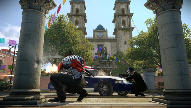 Payday 2 — The San Martín Bank Heist