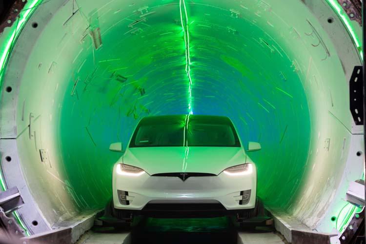Boring Company Илона Маска завершает прокладку туннеля в Лас-Вегасе
