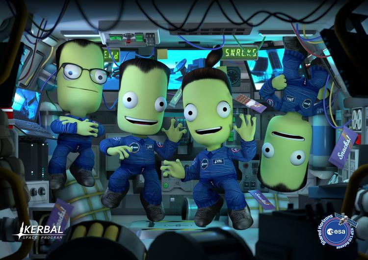 Симулятор Kerbal Space Program воссоздаст настоящие миссии Европейского космического агентства
