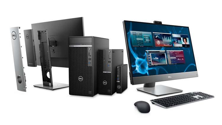 Обновлённые десктопы Dell OptiPlex получили процессоры Intel десятого поколения