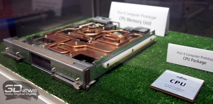 Прототип вычислительного модуля Fujitsu на базе A64FX
