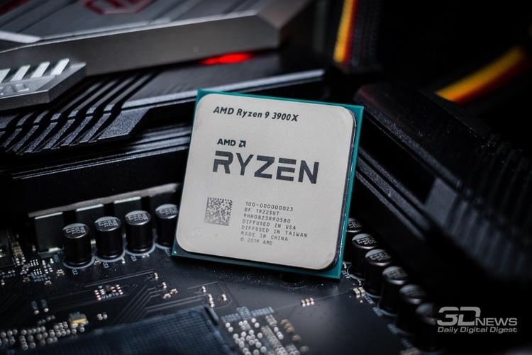 Появление Core i9-10900K обрушило цены на Ryzen 9 3900X